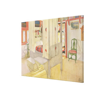 The Bedroom, published in 'Lasst Licht Hinin', 190 Canvas Print