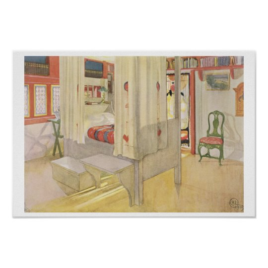 The Bedroom, published in 'Lasst Licht Hinin', 190 Poster