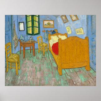 The Bedroom - Vincent van Gogh (1889) Poster
