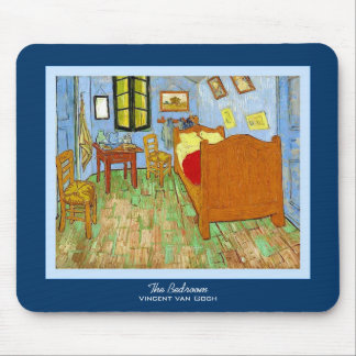 The Bedroom ~ Vincent van Gogh Mouse Pad