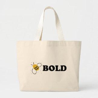 The Bee Bold Mug Canvas Bag