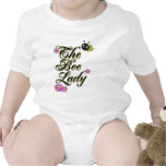 the bee lady large print rompers