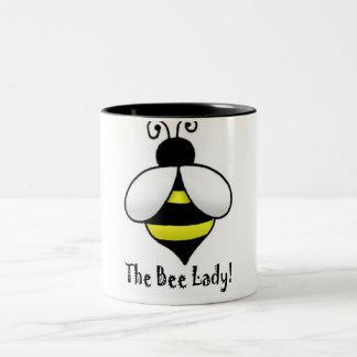 The Bee Lady Two-Tone Mug
