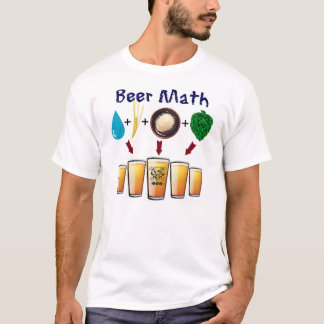 The Beer Math T from TriBEERatops Beer Club T-Shirt