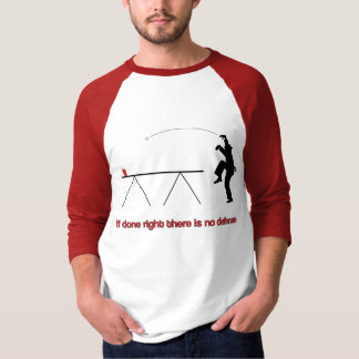 The Beer Pong Crane Shirt with no top text