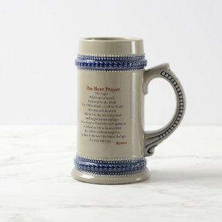 The Beer Prayer Beer Mug! Beer Stein
