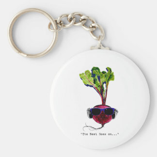 The beet goes on-light key ring