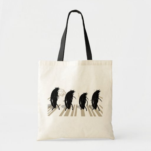 The Beetles Funny Music Tote Bag