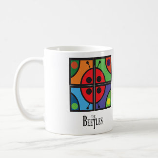 """The Beetles"" Graphic Coffee Mug"