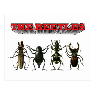 The Beetles HELP Post Cards