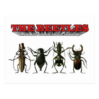 The Beetles HELP Postcard