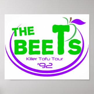 The Beets Killer Tofu Tour Poster