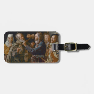 The Beggars' Brawl, c.1625-30 (oil on canvas) Luggage Tag