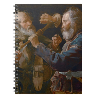 The Beggars' Brawl, c.1625-30 (oil on canvas) Spiral Notebook
