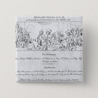 The Beggar's Opera' 15 Cm Square Badge