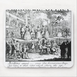 The Beggar's Opera Burlesqued, 1728 Mouse Pad