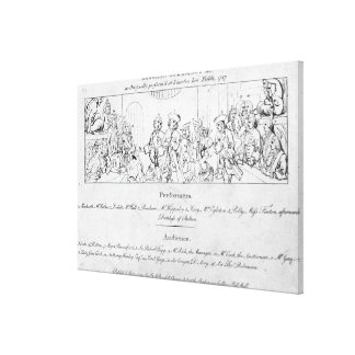 The Beggar's Opera' Canvas Print