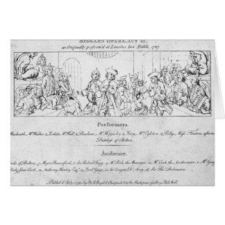 The Beggar's Opera' Card