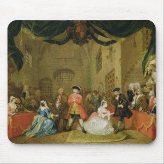 The Beggar's Opera, Scene III, Act XI, 1729 (oil o Mouse Pad