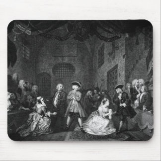 The Beggar's Opera, Scene III, Act XI, c.1728 Mouse Mat