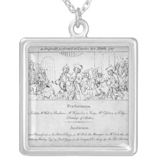 The Beggar's Opera' Silver Plated Necklace