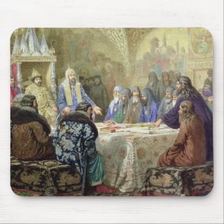 The Beginning of Church Dissidence in Russia Mouse Mat