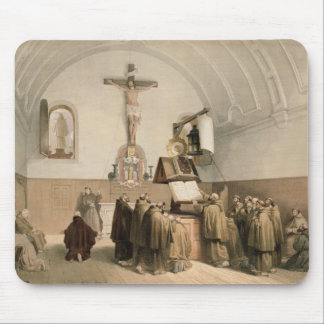 The Bell Ringers at the Oratory of the Capucines, Mouse Pad