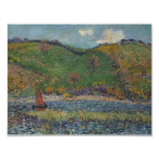 The Belon River by Gustave Loiseau Posters