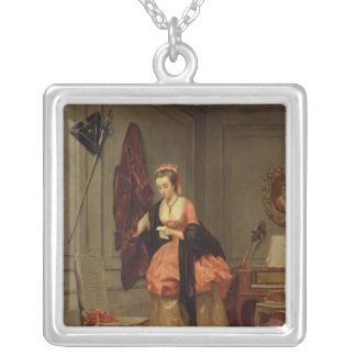 The Beloved Mistress, 1846 Silver Plated Necklace