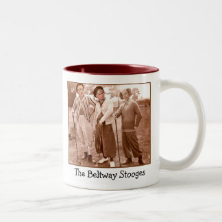 The Beltway Stooges Two-Tone Coffee Mug