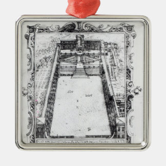 The Belvedere Court at the Vatican Rome, 1581 Christmas Ornament
