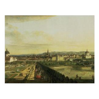 The Belvedere from Gesehen, Vienna Postcard