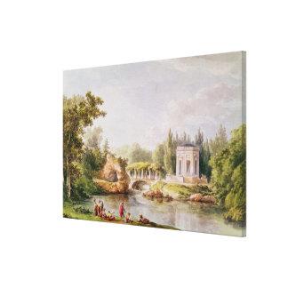 The Belvedere, Petit Trianon Canvas Print
