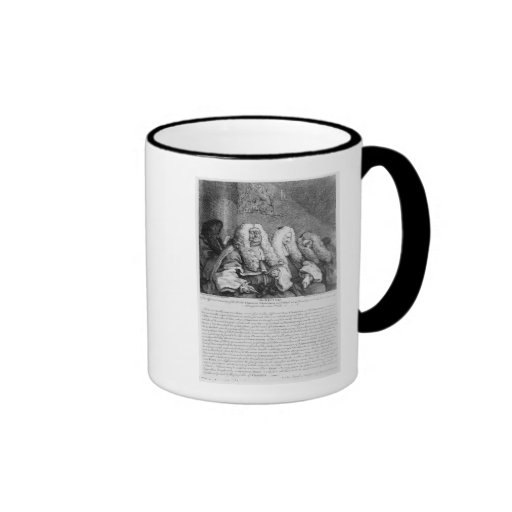 The Bench, 1758 Coffee Mug