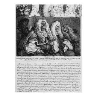 The Bench, 1758 Postcard