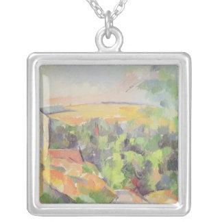 The Bend in the road, 1900-06 Silver Plated Necklace