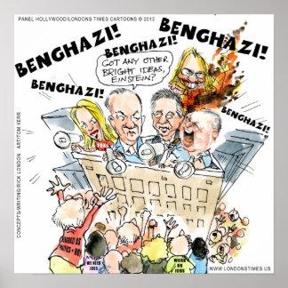 The Benghazi Shuffle Funny Poster