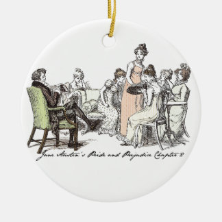 The Bennets of Longbourn - Jane Austen's P&P Christmas Ornament