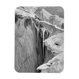 The Bergschrund on the Dent Blanche in 1865, from Vinyl Magnet