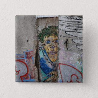 The Berlin Wall - Germany 15 Cm Square Badge