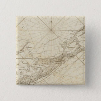 The Bermudas or Summer's Islands 15 Cm Square Badge
