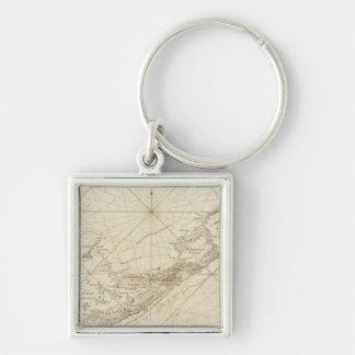 The Bermudas or Summer's Islands Key Ring