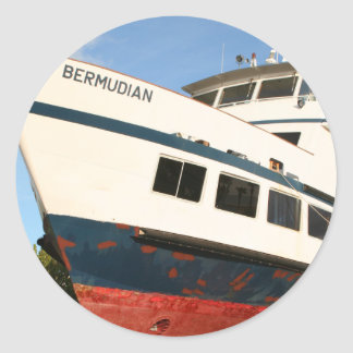The Bermudian sticker
