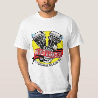 The Best Alarm Clock Is Sunshine On Chrome T-Shirt