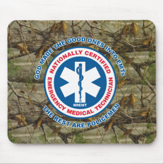 The Best are EMTs, the Rest are Policemen Mouse Pad