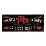 The Best BBQ in Town Poster