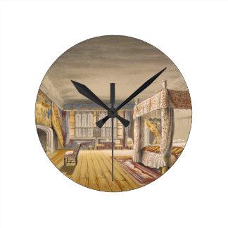 The Best Bedroom, Cotehele House, c.1830-40 (colou Clock