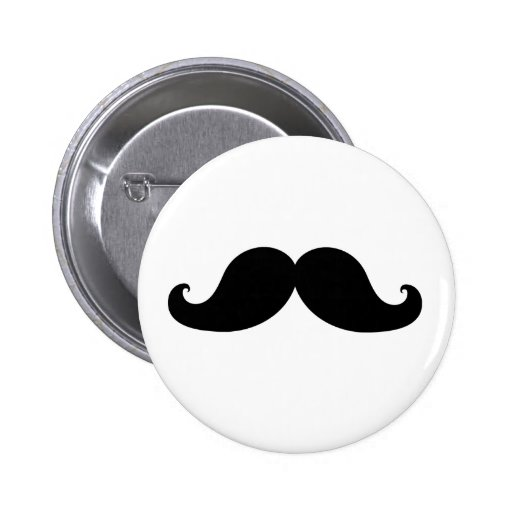 THE BEST BLACK MUSTACHE PIN