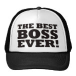 The Best Boss Ever Trucker Hat