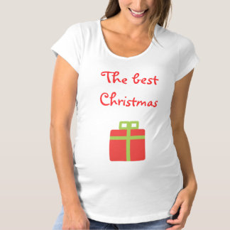 The best Christmas Gift Maternity T-Shirt